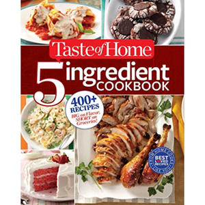Taste of Home, 5 Ingredient Cookbook