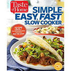 Taste of Home, Simple Easy Fast Cookbook