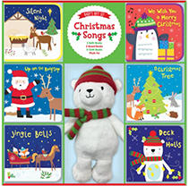 Bath books with built-in squeakers, cloth books with crinkle sounds, and colorful board books are the perfect way to introduce favorite Christmas songs to babies. The soft plush pal is sure to become a child's favorite.