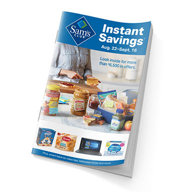 Instant Savings Book - Sam's Club