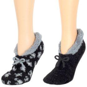 Cuddl Duds® 2-Pack Slipper Socks