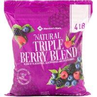 Member's Mark Natural Triple Berry Blend (4 lbs.)