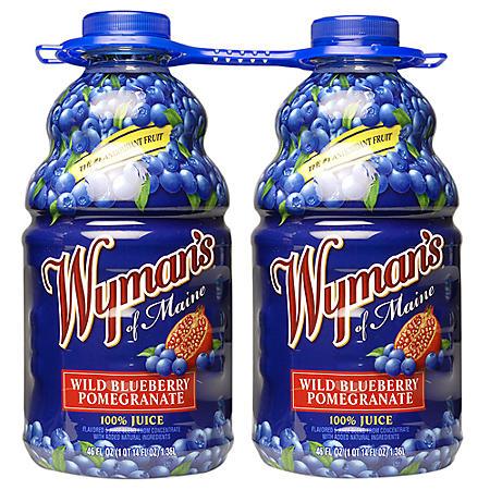 Wyman's Blueberry Juices
