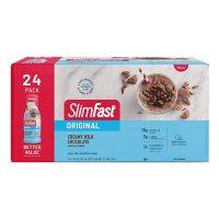 SlimFast Original Creamy Milk Chocolate Ready to Drink Meal Replacement Shakes (11 fl. oz., 24 pk)