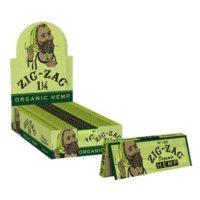 Zig-Zag Organic Hemp Rolling Papers 1 1/4 (24 books)