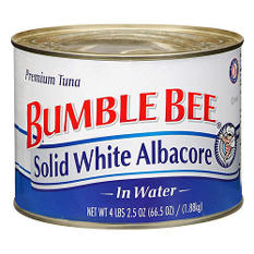 Bumble Bee Solid White Albacore In Water (66.5 oz.)