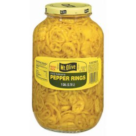 Mt. Olive Mild Banana Pepper Rings - 1 gal. jar