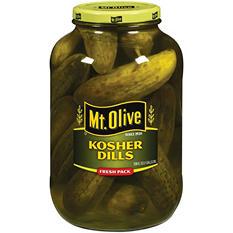 Mt. Olive Kosher Dills - 1 gal. jar