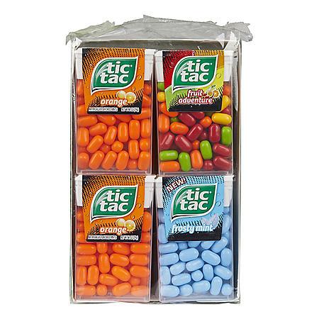 Tic Tac Variety Pack (1 oz., 12 pk.)