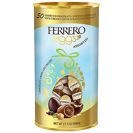 Ferrero Eggs Cocoa and Hazelnut Assortment (50 ct.)