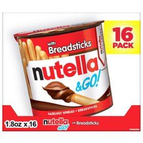 Nutella & Go (1 8 oz , 16 ct ) - Sam's Club