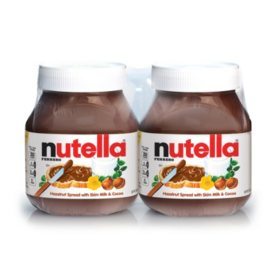 Nutella Hazelnut Spread Twin Pack (26.5 oz., 2 pk.)