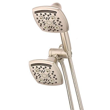 Oxygenics Marvel Combo 48-Setting Brushed Nickel Shower System