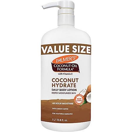 Palmer's Coconut Oil Formula with Vitamin E Lotion (33.8 fl., oz., 2pk.)