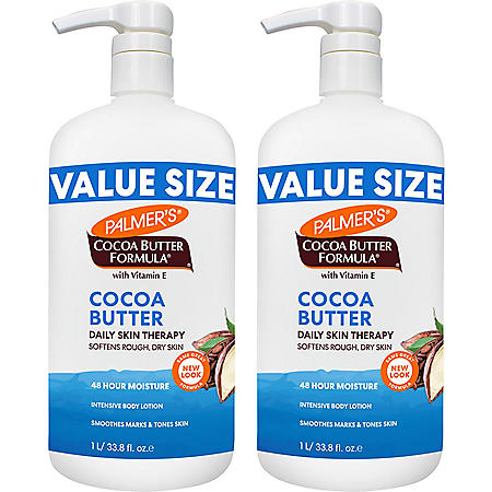Palmer's Cocoa Butter Formula with Vitamin E Daily Skin Therapy Lotion (33.8 fl., oz., 2pk.)
