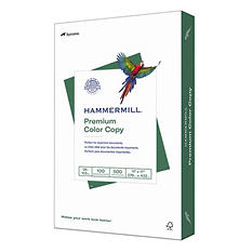 "Hammermill - Color Copy Digital Paper, 28lb, 100 Bright, 11 x 17"" - Ream"