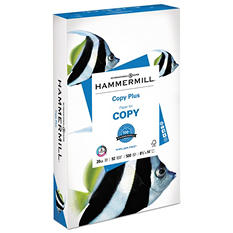 "Hammermill - Copy Plus Copy Paper, 20lb, 92 Bright,  8-1/2 x 14"" - Ream"