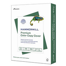 Hammermill - Color Copy Digital Cover Stock, 8-1/2 x 11, White - 250 Sheets