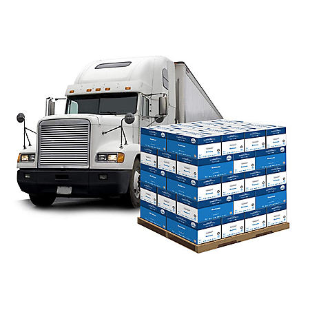 Truckload of Hammermill Business Paper