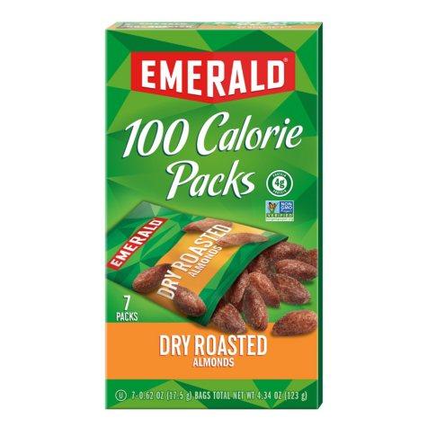 Emerald® 100 Calorie Pack Dry Roasted Almonds - 7 pks./box