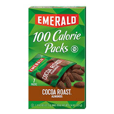 Emerald® 100 Calorie Pack Dark Chocolate Cocoa Roast Almonds - 7 pks./box