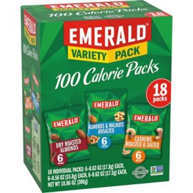 Emerald Nuts 100 Calorie Variety Pack (18 pk.)