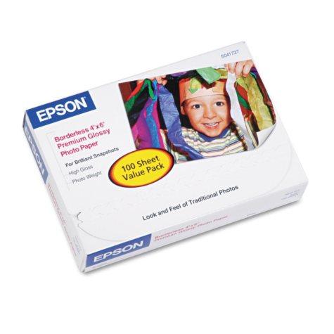 Epson Borderless Premium Glossy Photo Paper