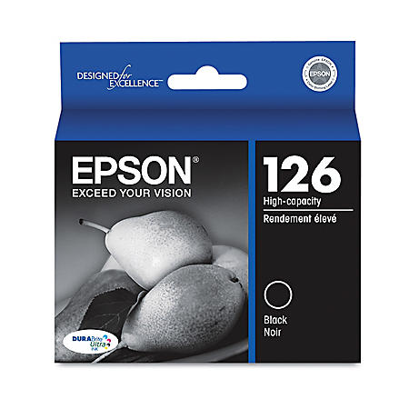 Epson 126 High-Yield Ink, Black