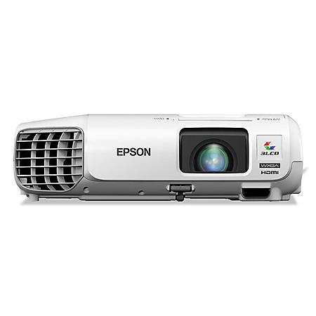 Epson PowerLite 1222 Multimedia Projector, 3000 Lumens, 1024 x 768 Pixels - 1.2x Zoom