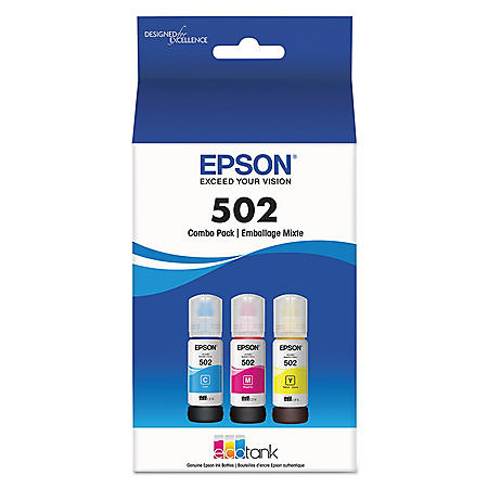 Epson T502520S Ink Includes Cyan, Magenta and Yellow - 6000 Page Yield
