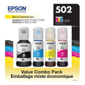 Epson EcoTank 502 Ink Bottles Value Club Pack