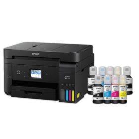 Epson WorkForce EcoTank 4750SE Wireless All-in-One Printer with Bonus Black Ink
