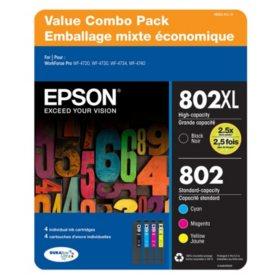 Epson DURABrite Ultra 802 Ink Value Club Pack