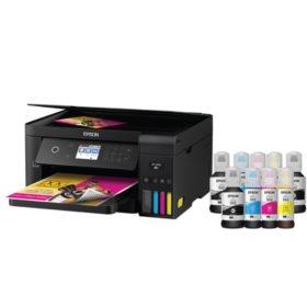 Epson Expression EcoTank ET-3700SE Wireless All-in-One Printer with Bonus Black Ink