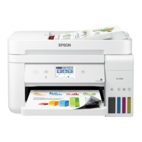 Epson EcoTank ET-4760 Special Edition All-in-One Printer with Bonus Black Ink