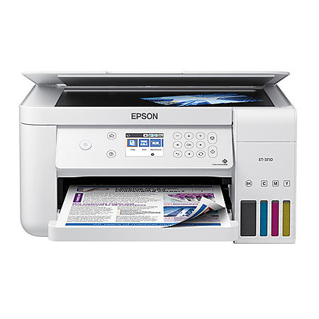 Epson EcoTank ET-3710 Special Edition All-in-One Printer with Bonus Black Ink