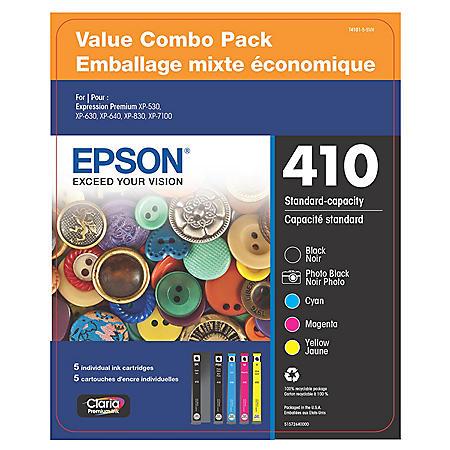 Epson Claria Premium 410 Ink Value Club Pack