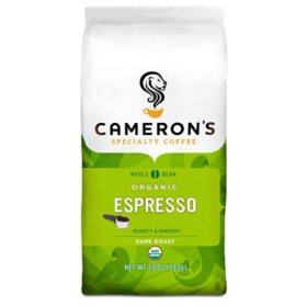 Cameron's Coffee Organic Whole Bean, Espresso (28 oz.)