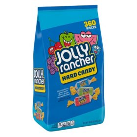 JOLLY RANCHER Assorted Fruit Flavored Hard Candy (5 lb. bag, 360 pc.)