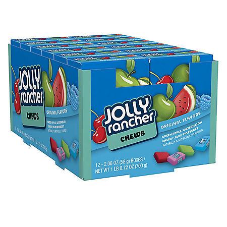Jolly Rancher Chews (2.06 oz., 12 ct.)