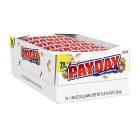 PAYDAY Peanut and Caramel Bulk Candy (1.85 oz. bars, 24 ct.)