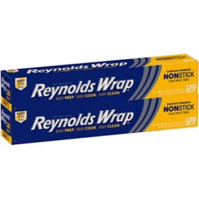 Reynolds Wrap Non-Stick Aluminum Foil (130 sq. ft., 2 pk.)