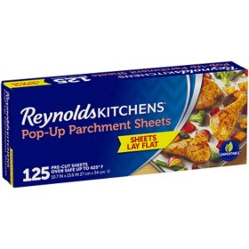 Reynolds Kitchens Pop-Up Parchment Paper Sheets (125 ct.)