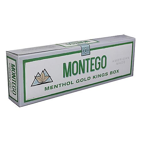 Montego Menthol Gold King Box (20 ct., 10 pk.)
