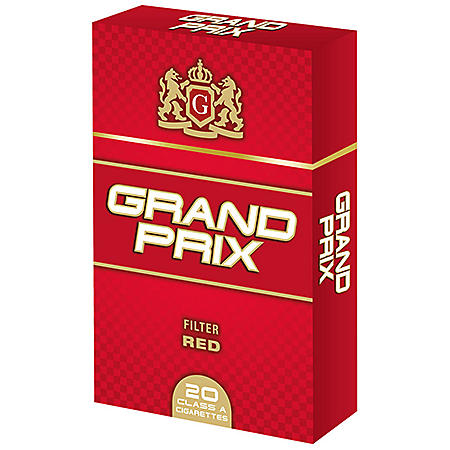Grand Prix Red King Box (20 ct., 10 pk.)