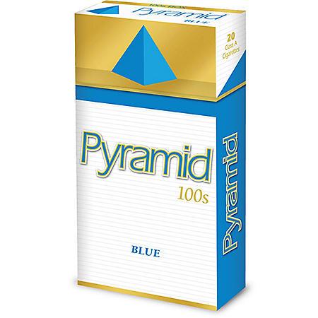 Pyramid Blue 100s Box (20 ct., 10 pk.)