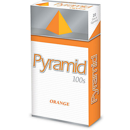 Pyramid Orange 100s Box (20 ct., 10 pk.)