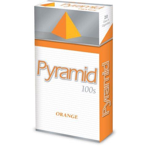 Pyramid  Orange 100s 1 Carton
