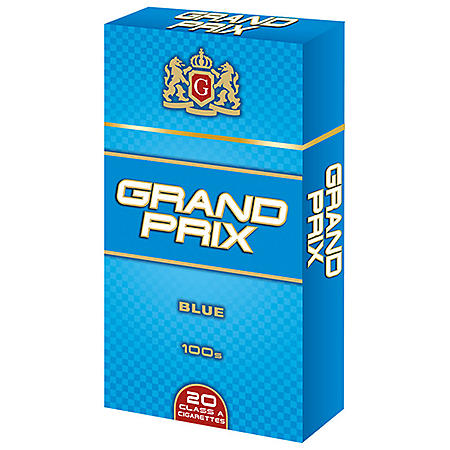 Grand Prix Blue 100s Box (20 ct., 10 pk.)