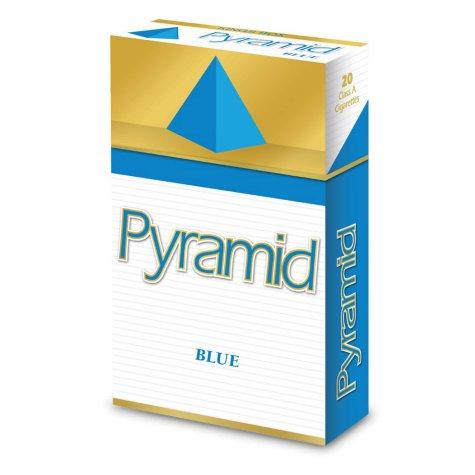 Pyramid Blue Kings Box 1 Carton